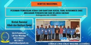 Bimtek Hibah dan Bansos (Bantuan Sosial)