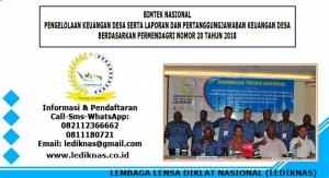 Bimtek Pengelolaan Keuangan Desa Permendagri 20 Tahun 2018