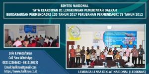 Bimtek Tata Kearsipan Pemerintah Daerah