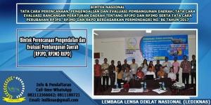 Bimtek Perencanaan Pengendalian dan Evaluasi Pembangunan Daerah (RPJPD, RPJMD RKPD)