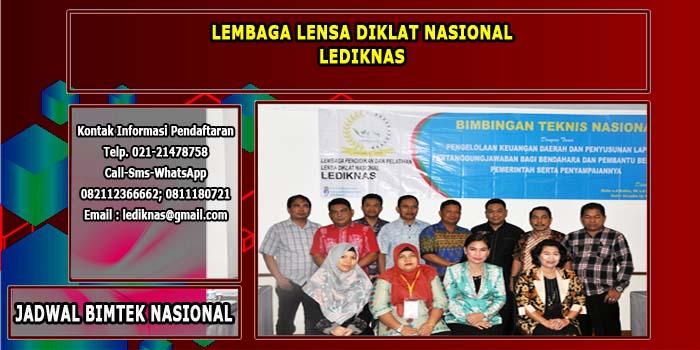 Info Jadwal Bimtek Nasional Tahun 2021